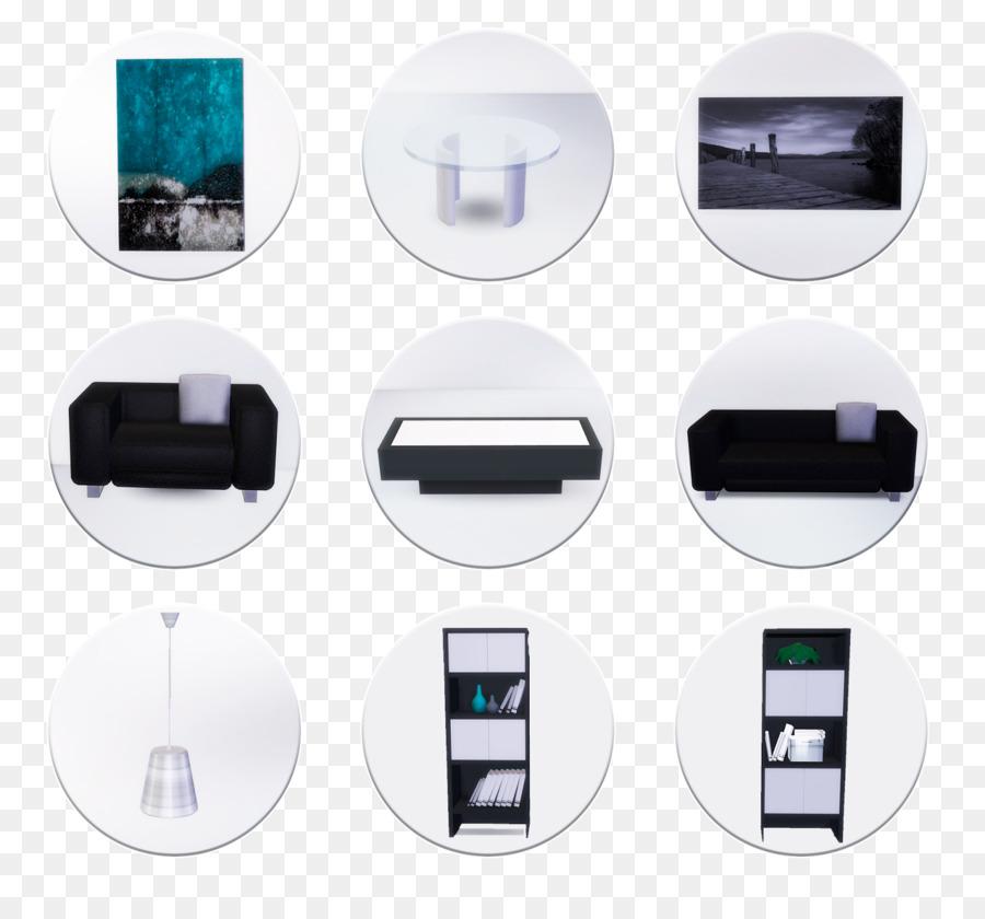 Die Sims 4 Wohnzimmer Die Sims 3-Eames Lounge Chair - Wohnzimmer png ...