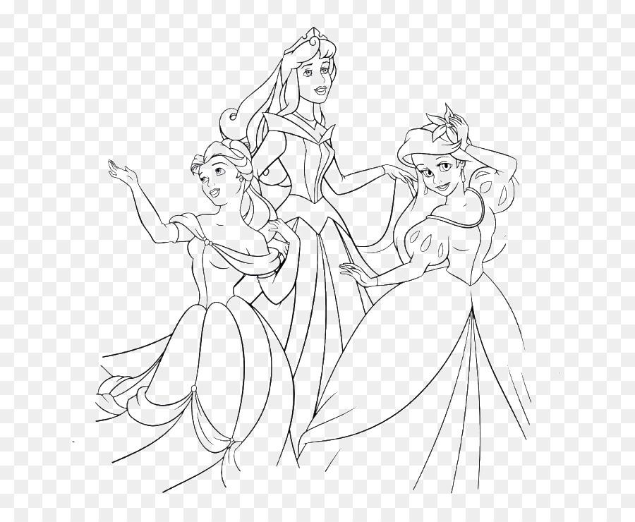 Ariel de Disney Princess la Línea de arte Elsa El Príncipe - la ...
