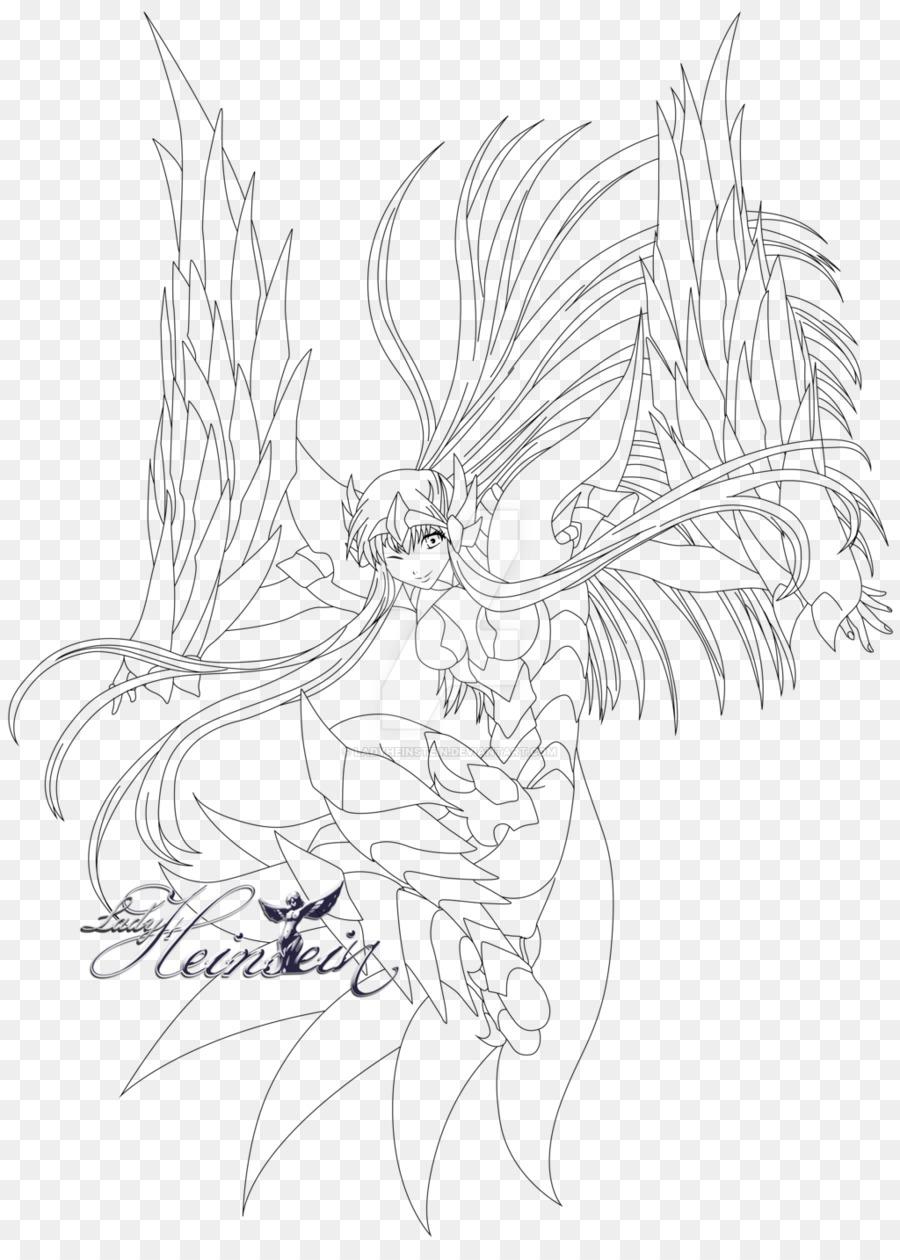 Fairy Line Art Inker Cartoon Sketch Fairy 10241411 Transprent Png