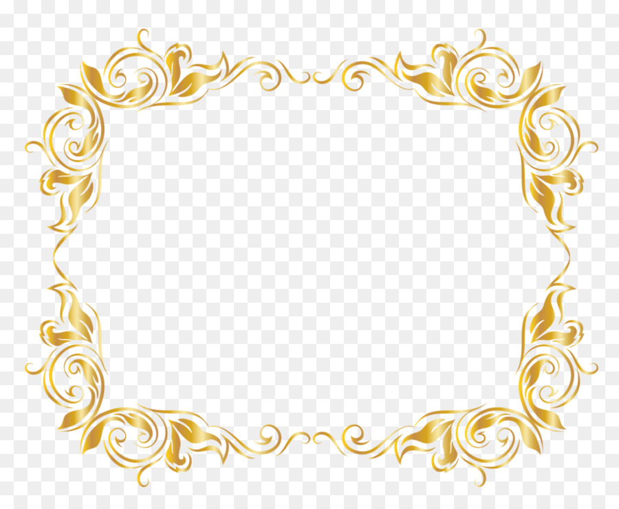 Picture Frames Clip art - gold png download - 1024*835 - Free ...