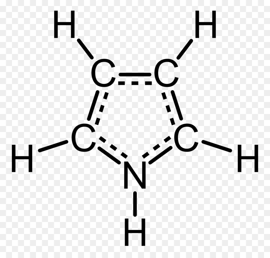 Pyrrole Aromaticity Heterocyclic Compound Chemical Formula Lone Pair