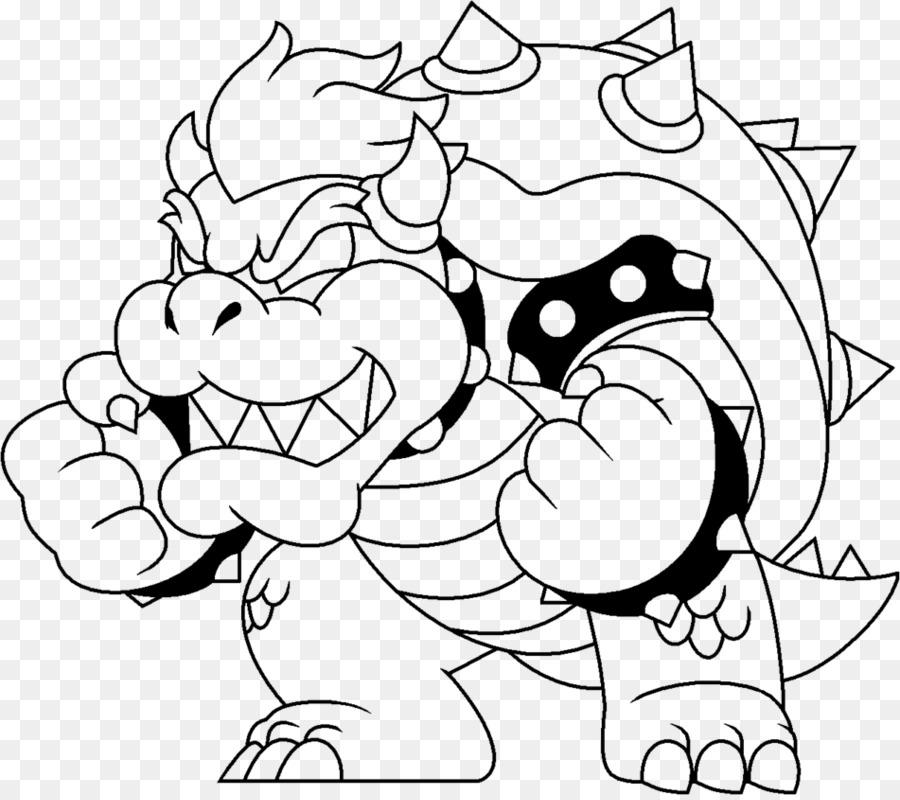 Bowser Mario Sonic Ai Giochi Olimpici Di Mario Bros Da Colorare