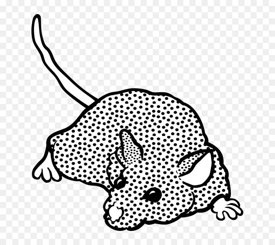 Black And White Computer Mouse Drawing Clip Art