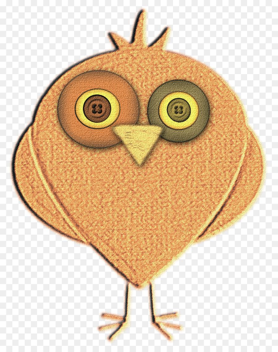 Burung Paruh Animasi Kartun Ayam Sebagai Makanan Burung Hantu