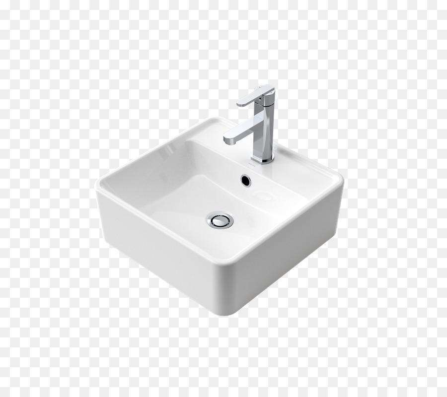Ceramic kitchen sink Tap - sink png download - 800*800 - Free ...