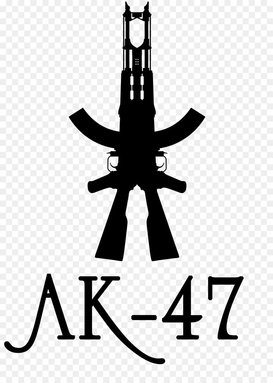 ak 47 tattoo firearm silhouette honda ak 47 png download 2104