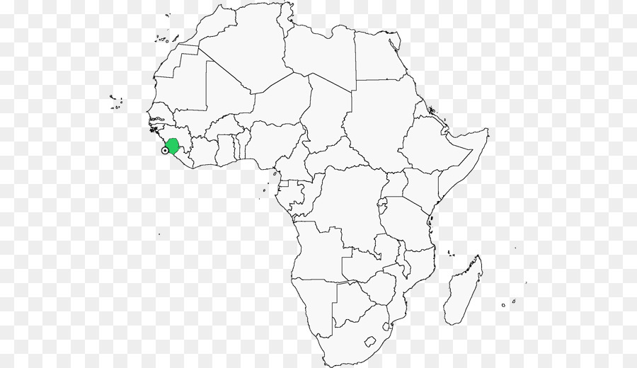 Africa Blank Map World Map Africa Png Download 591 520 Free