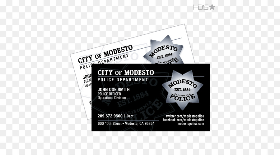 Business cards modesto police department card city california city business cards modesto police department card city california city police colourmoves