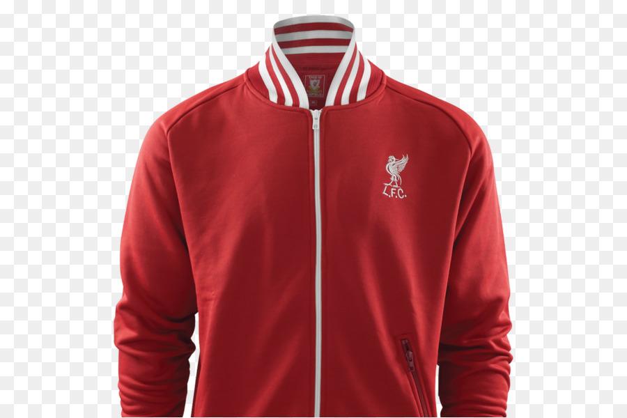 Sudadera Con Capucha De Liverpool F. C. De La Chaqueta De La Parte Superior  De Jersey - 20c4572629cfe