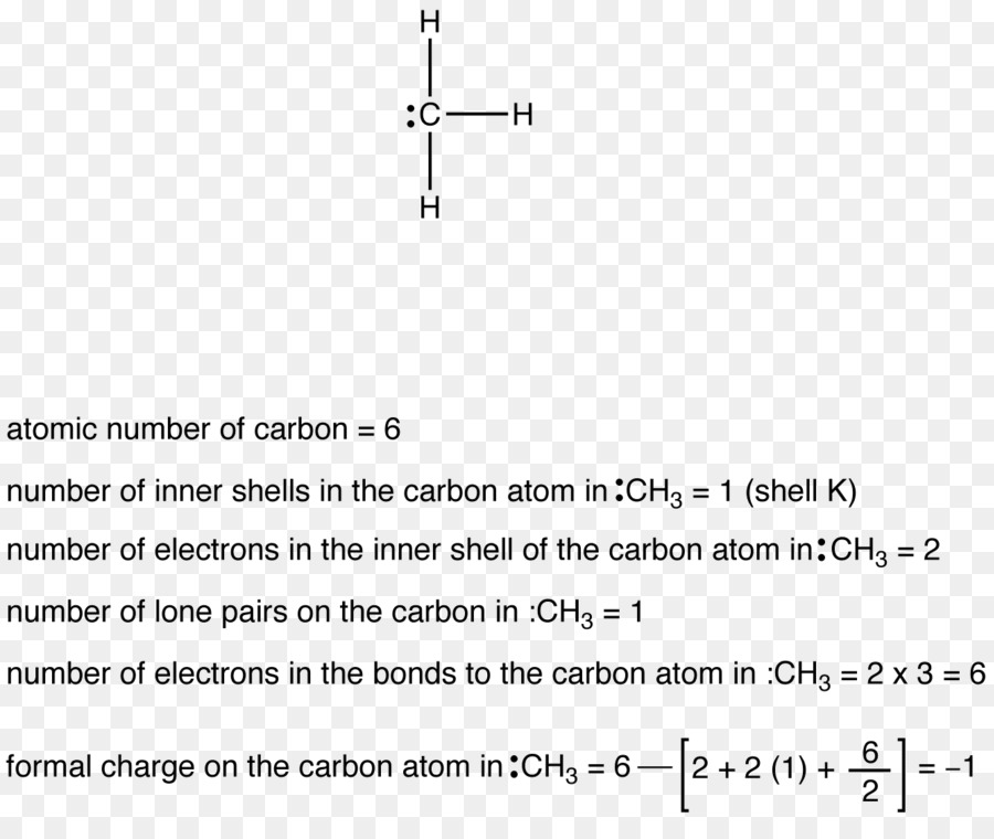 Formal Charge Methyl Group Carbon Methylene Group Electric Charge