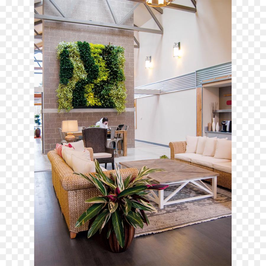 Grüne Wand Garten Wohnzimmer Interieur Design Dienstleistungen ...