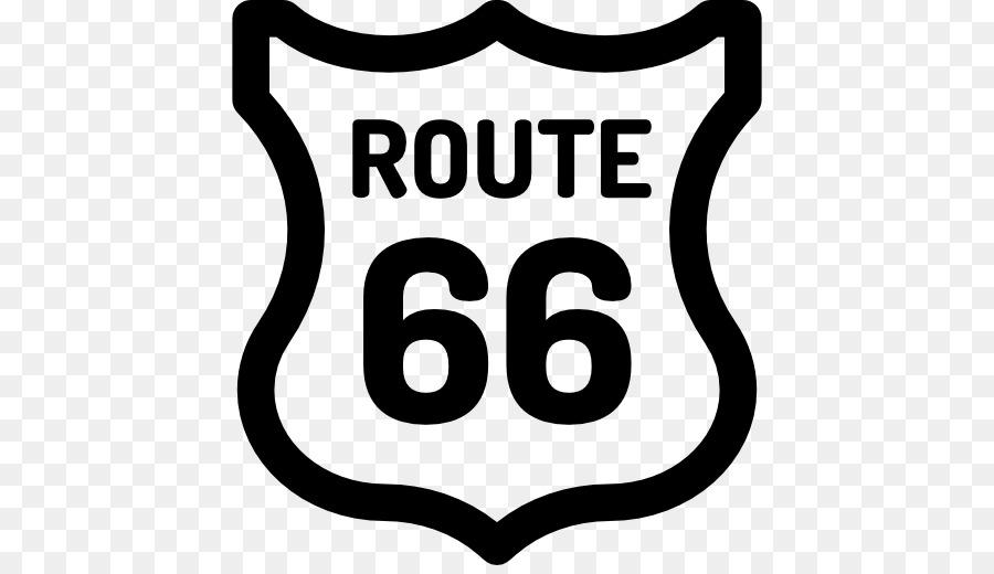 U S Route 66 Brand Logo Clip Art