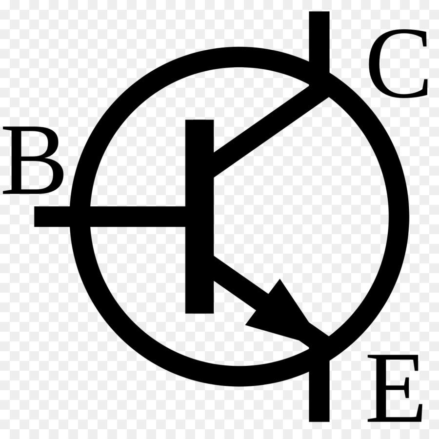 NPN Electronic symbol Bipolar junction transistor Electronics ...