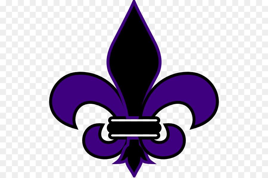 Fleur De Lis Symbol New Orleans Saints Sign Symbol Png Download