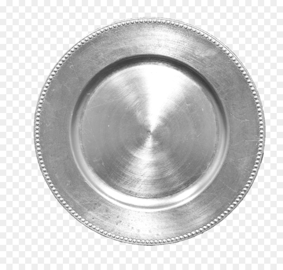 Silber Ladegerät Platte Kunststoff Glas   Silber