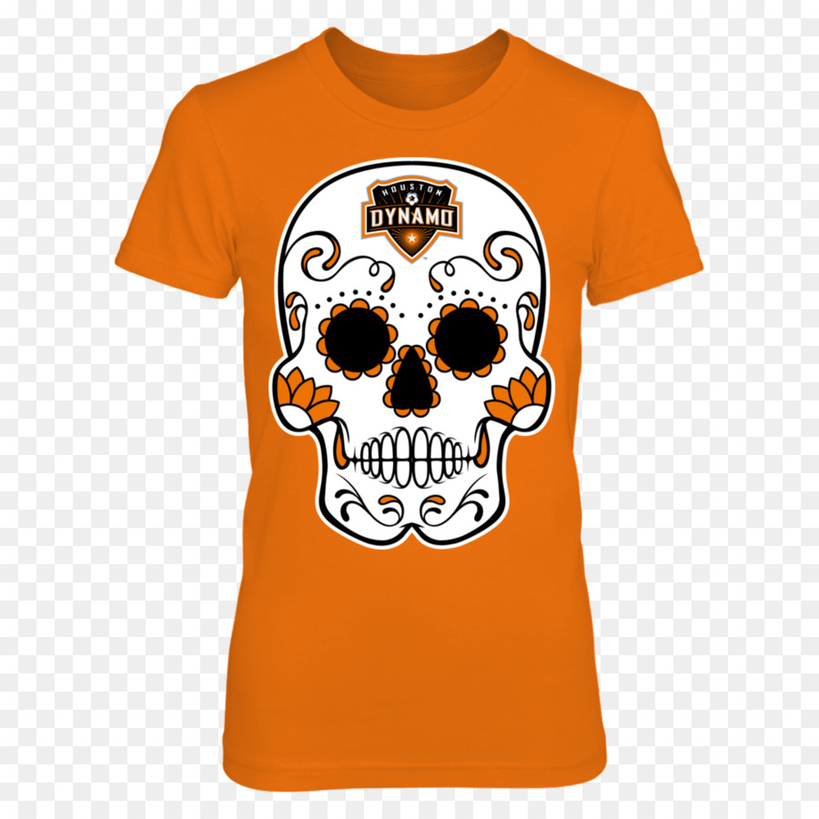 t shirt hoodie houston dynamo clothing sugar skulls png download