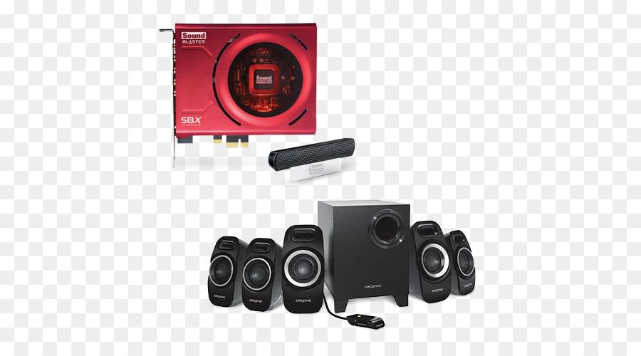 5.1 surround sound Loudspeaker Computer speakers Creative Technology ...
