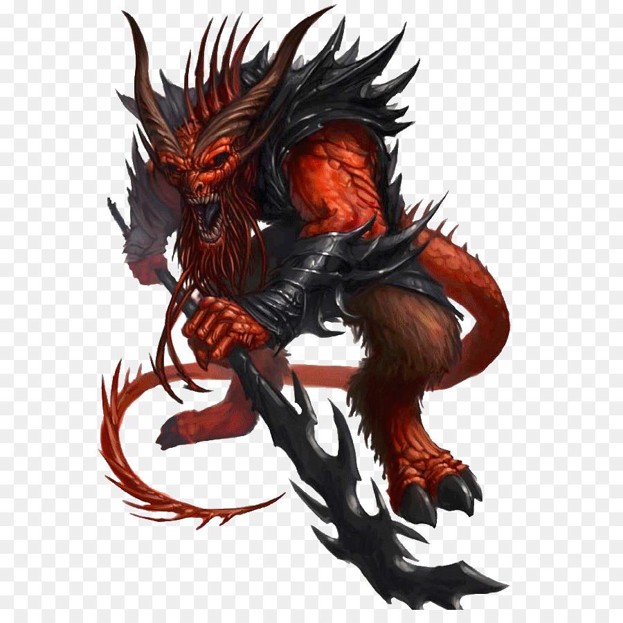 Dungeons & Dragons Pathfinder Roleplaying Game Monster Manual II Devil  Barbazu - devil