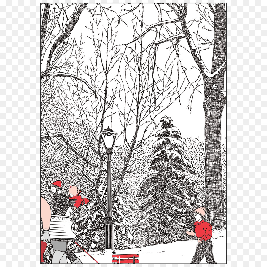 New York City Christmas Card Greeting Note Cards Santa Claus