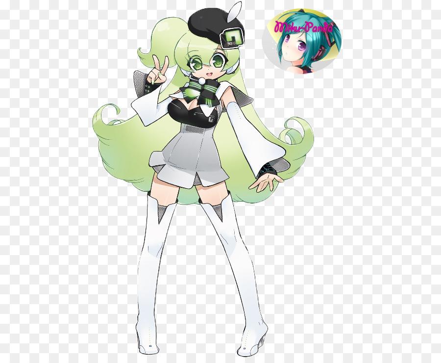 Macne Nana Vocaloid 4 Macne series Utau - hatsune miku png download