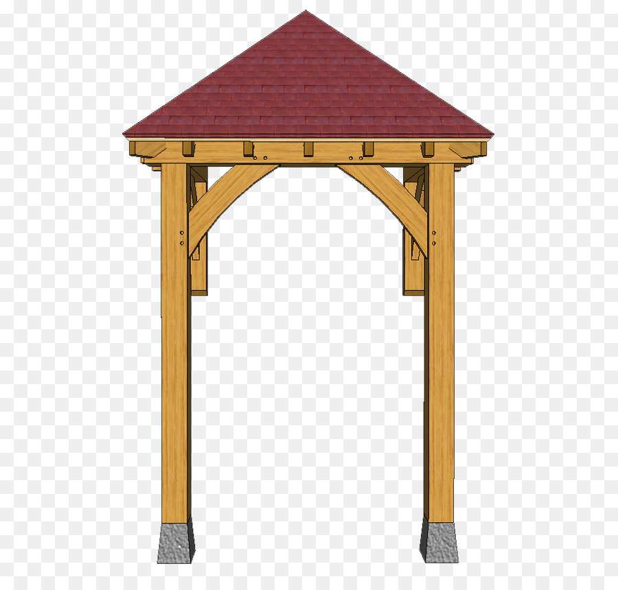 Canopy Porch Roof House - design png download - 586*854 - Free ...