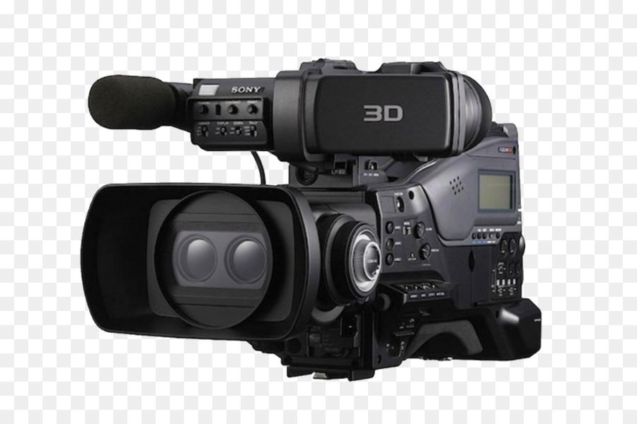 3d camcorder camera 3d film 3d television camera png download