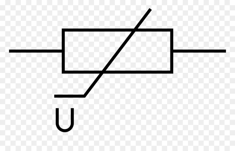 Varistor Resistor Electronics Electronic Symbol Electrical