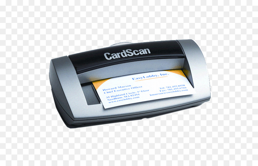 Image scanner Business Cards HID Global EasyLobby, Inc. - Business ...