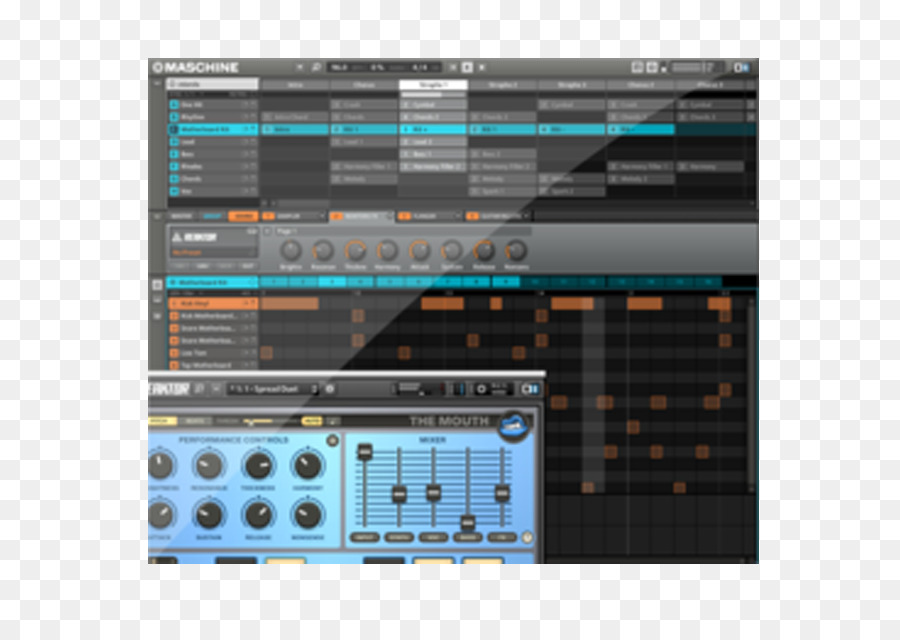 Native Instruments Maschine Mikro Mk2 Software png download