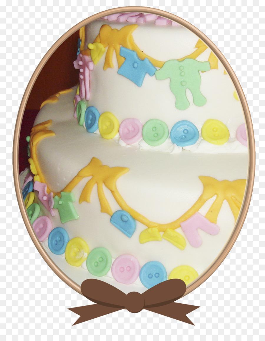 Cupcake Cake Decorating Royal Icing Baby Shower Cake Png Download