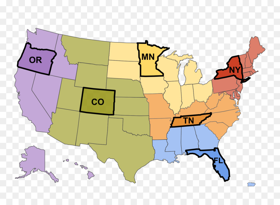 Us Presidential Election 2016 Map Southern United States President - Cartoon-map-of-the-us