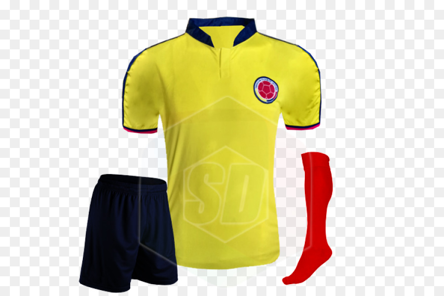 d802875c704 2018 World Cup Colombia national football team T-shirt 2014 FIFA ...