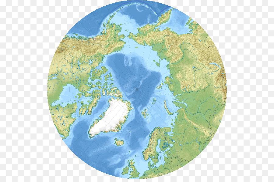 Arctic Ocean Bering Strait Beringia Bering Sea - world map png ...