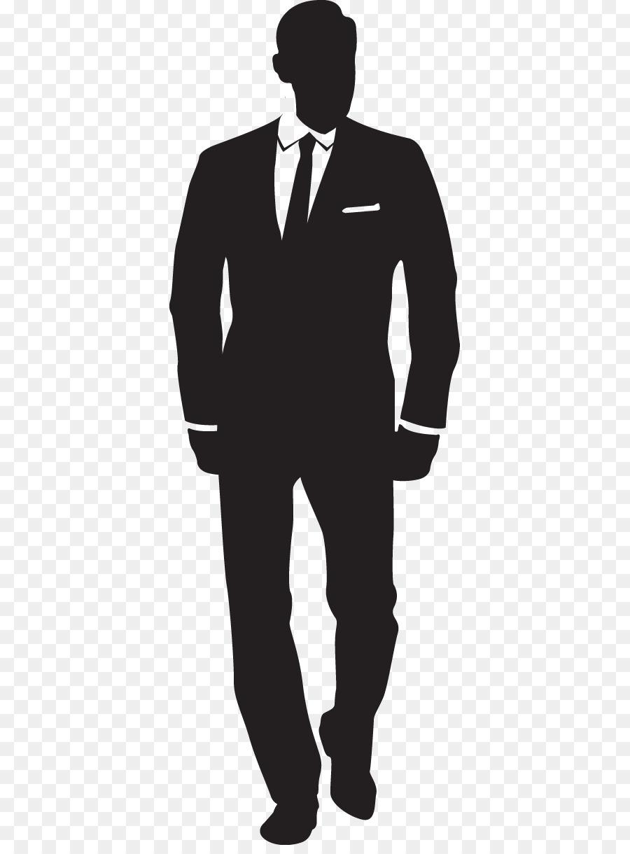 standing businessman silhouette cartoon royalty free - HD900×1220