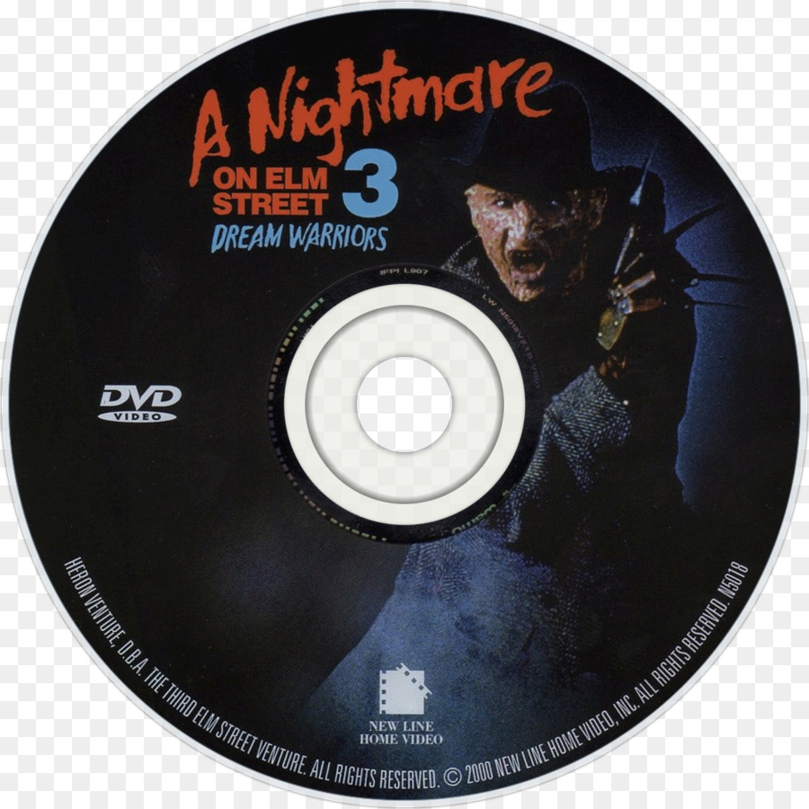 Compact Disc A Nightmare On Elm Street DVD Cover Art Film   Nightmare On  Elm Street