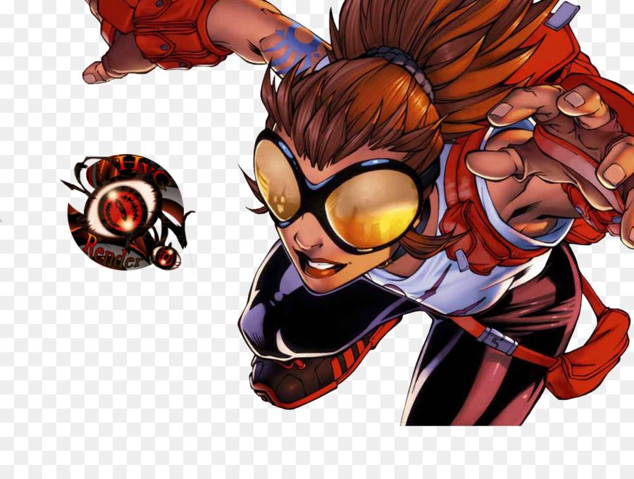 venom Spider girl