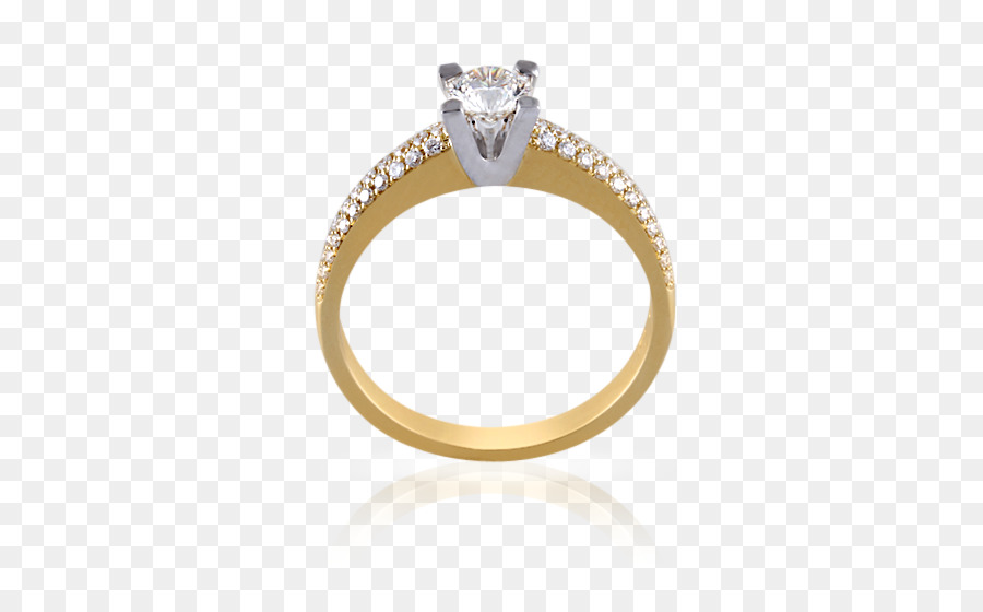 Engagement Ring Gold Jewellery Zircon Jewelry Clothes Png Download