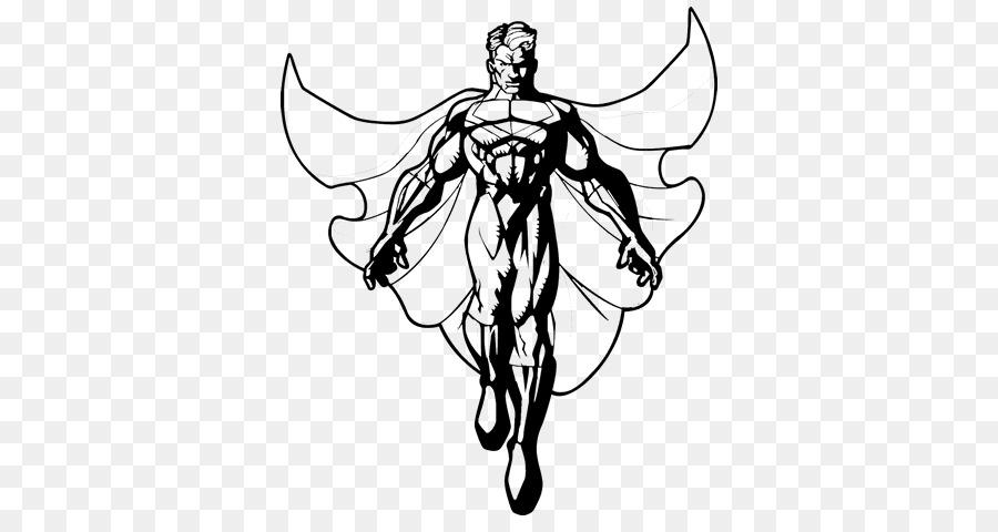 Superhéroe Creador De Batman Superman Flor Páginas Para Colorear ...