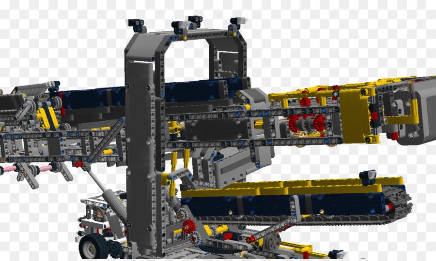 Machine Bucket Wheel Excavator Lego Technic Lego Digital Designer