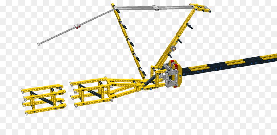 Lego Technic Mobile Crane Axle Crane Png Download 1852876