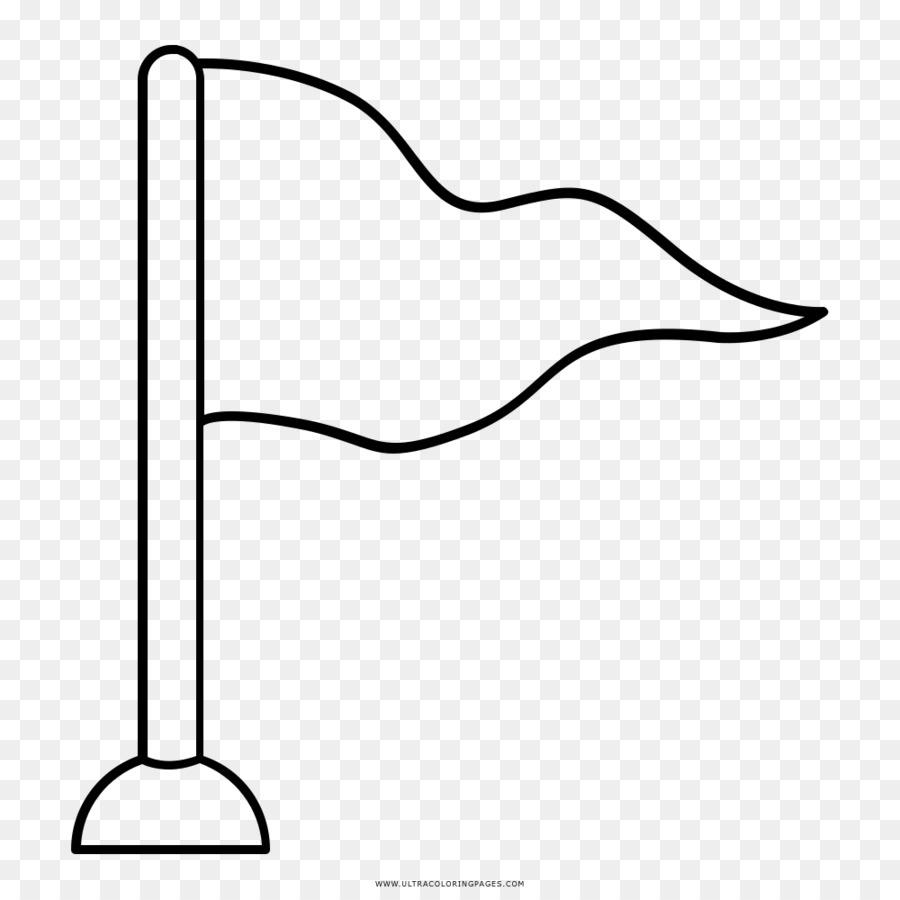 Libro para colorear de Dibujo de la Bandera de la Página - Bandera ...