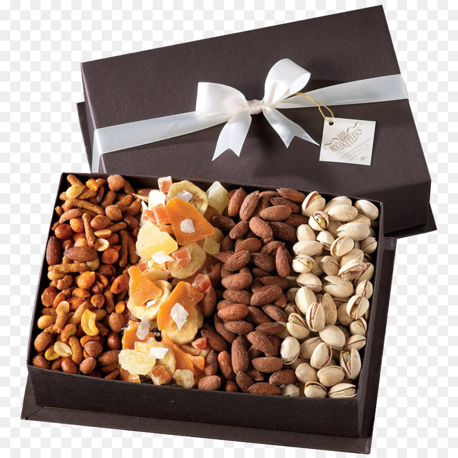 Dried Fruit Food Gift Baskets Nut Box - gift png download - 1000*1000 - Free Transparent Dried Fruit png Download.