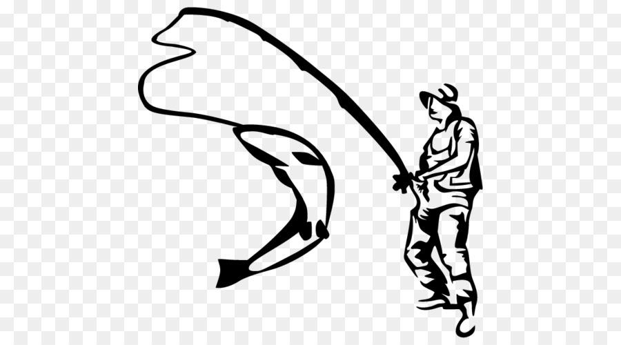 La pesca con mosca Clip art - La pesca Formatos De Archivo De Imagen ...