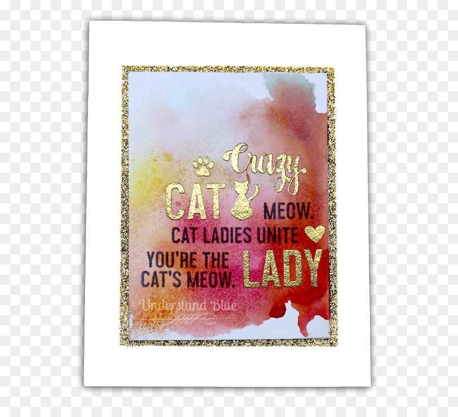 Picture Frames Font Crazy Cat Png Download 650815 Free