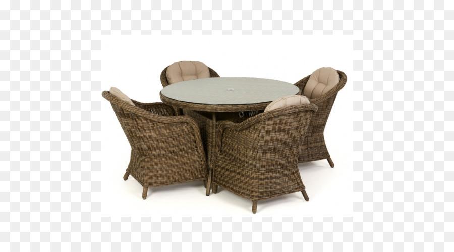 Mesa de Comedor de Ratán muebles de Jardín Silla - tabla Formatos De ...