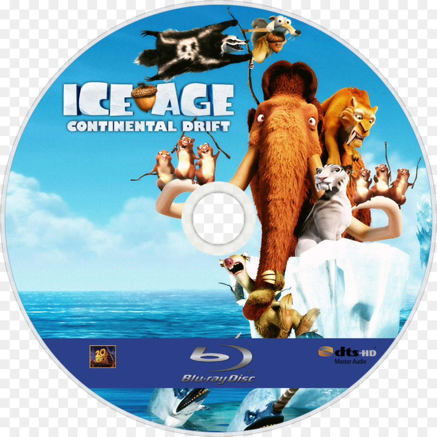 sid scrat ice age animated film - continental drift theory drawing