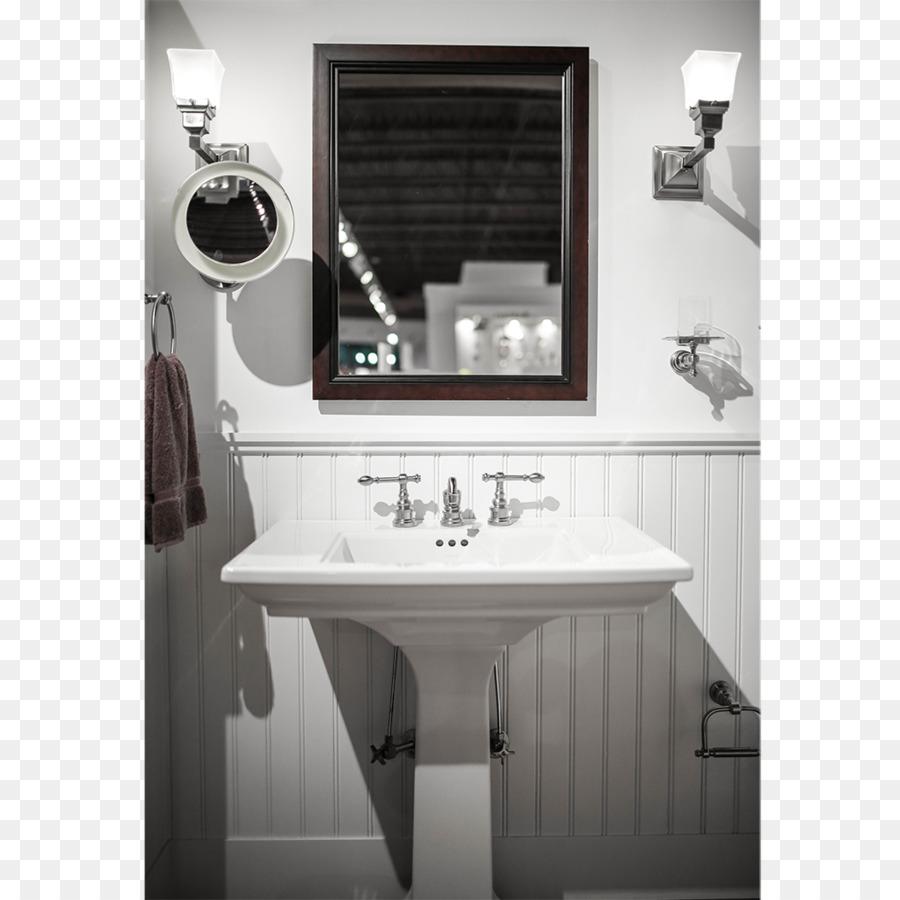 Sink Bathroom cabinet Kohler Co. Shower - Bathroom top png download ...