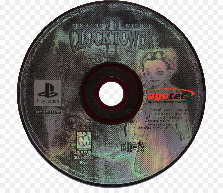 Superieur Clock Tower II: The Struggle Within Compact Disc Disk Storage   Clock Tower