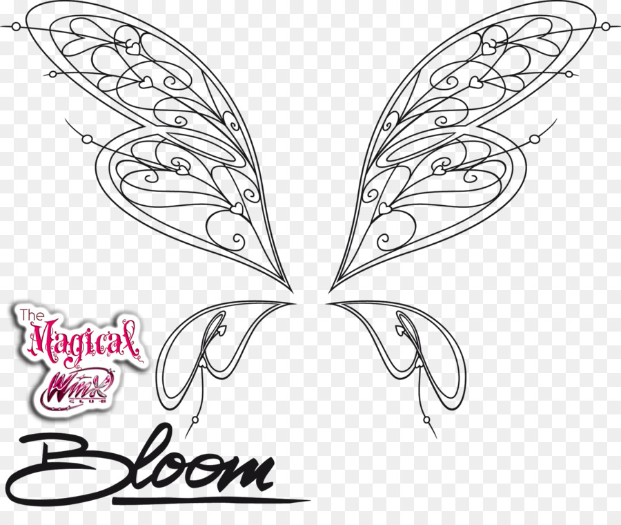 Bloom, Stella Musa libro para Colorear - happy meal Formatos De ...