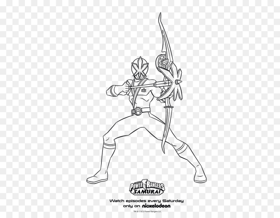 Power Rangers Samurai Billy Cranston Coloring Book Super Megaforce